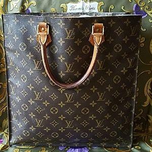 Authentic Louis Vuitton Monogram Large Tote Bag